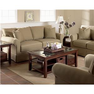 Klaussner Grove Park Sectional Sofa Group with Skirt