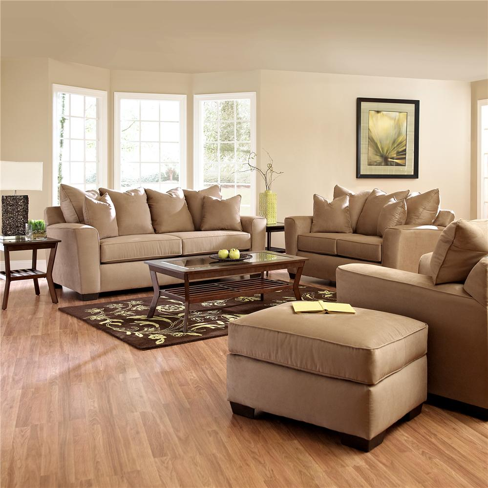 Klaussner Heather Stationary Living Room Group Value City Furniture Upholstery Group