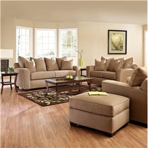 Elliston Place Heather Stationary Living Room Group