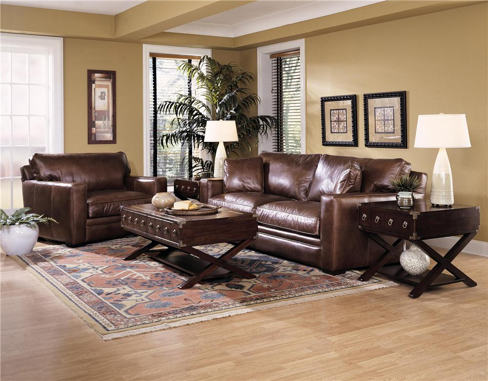 Klaussner Homestead Stationary Living Room Group - Item Number: LD615 Living Room Group 1