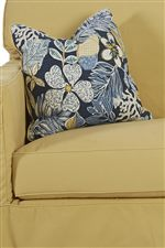 Welt Cord Trim on Cushions and Accent Pillows