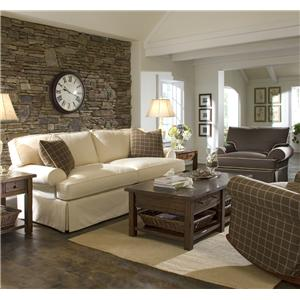 Elliston Place Lahoya Sofa with Slipcover and Blend Down Cushions