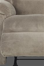 Padded Chaise Recliner