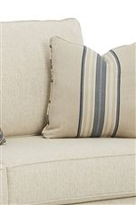 Loose Back Cushions and Accent Pillows