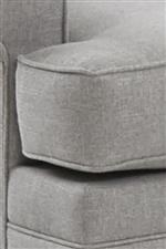 Two Cushion Options: T-Shaped (Shown) or Boxed