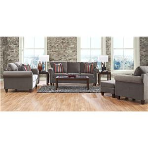 Klaussner Lopez Stationary Living Room Group