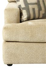 Smooth Upholstered Edges Create a Clean-Cut, Contemporary Style
