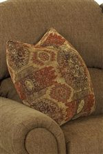 Accent Arm Pillows Add a Touch of Color, Texture and Additional Comfort