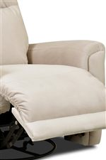 Full Chaise Lounge Seat for Head to Toe Comfort