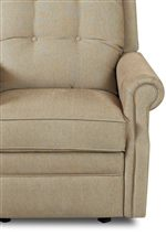 Thinly Rolled Arm and Boxed-edge Seat Cushion with Welt Cord Trim