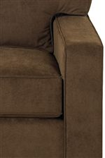 Smooth Lined Cushions Create a Welcoming Interlocked Look