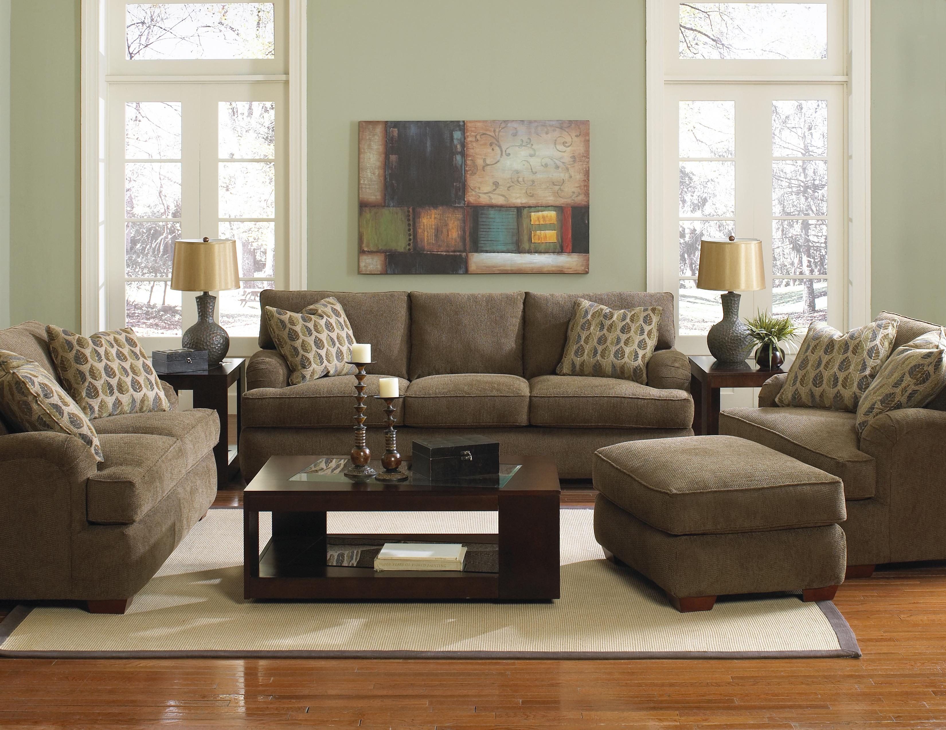 Klaussner vaughn stationary living room group johnny for Klaus k living room brunssi