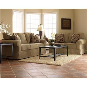 Klaussner Woodwin Stationary Living Room Group