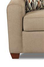 Klaussner Zuma Contemporary Sleeper Chair with Innerspring Mattress Johnny Janosik Sofa Sleeper