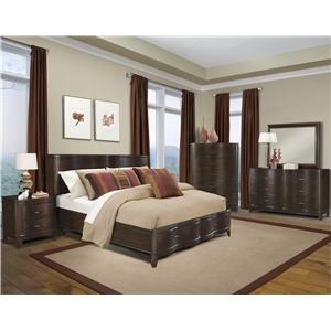 Klaussner International Serenade Queen Bedroom Group