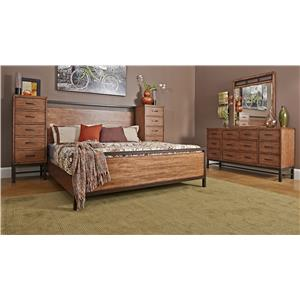 Klaussner International Affinity King Bedroom Group