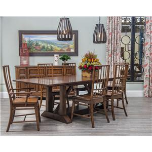 Carolina Preserves by Klaussner Blue Ridge Formal Dining Room Group