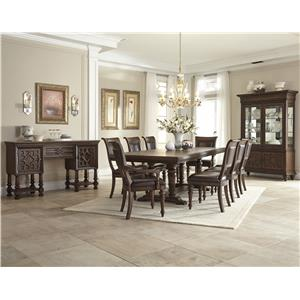 Klaussner International Palencia Formal Dining Room Group