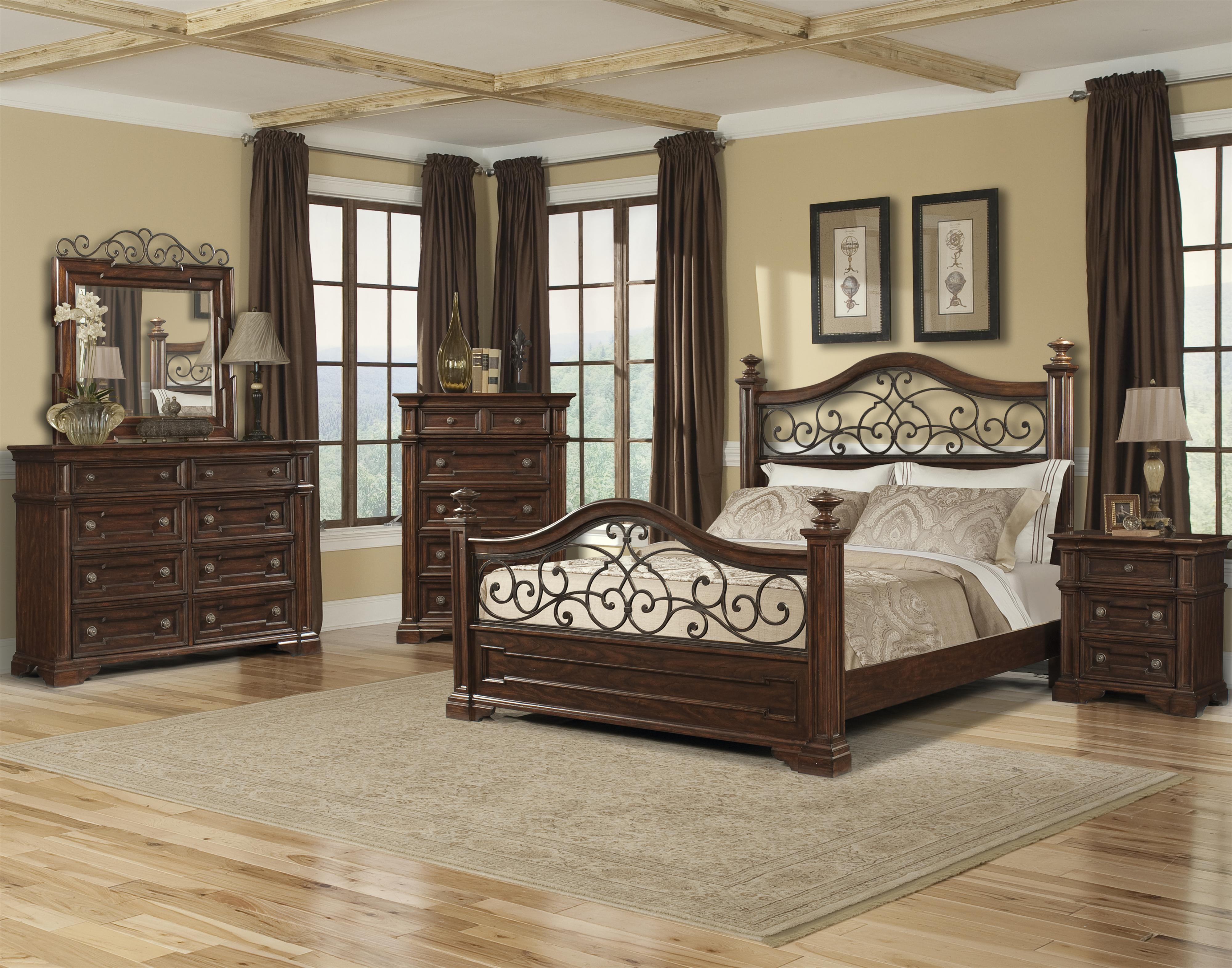 Klaussner International San Marcos Queen Bedroom Group Wayside Furniture Bedroom Group