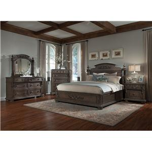 Belfort Basics Virginia Manor King Bedroom Group