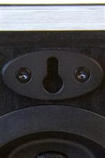 Keyhole Bracket with Threaded Insert for Easy Installation