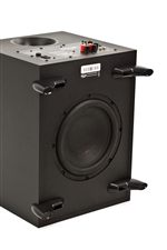 Down-Firing Subwoofers Offer Natural Bass That Can Be Felt Throughout the Room in Which it is Placed