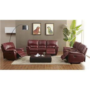 BFW Lifestyle 1738 Reclining Living Room Group