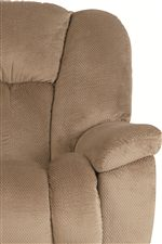 Plump Seat Back with Pillow Arm