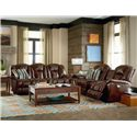 La-Z-Boy Maverick Reclining Living Room Group - Item Number: 582 Living Room Group 2