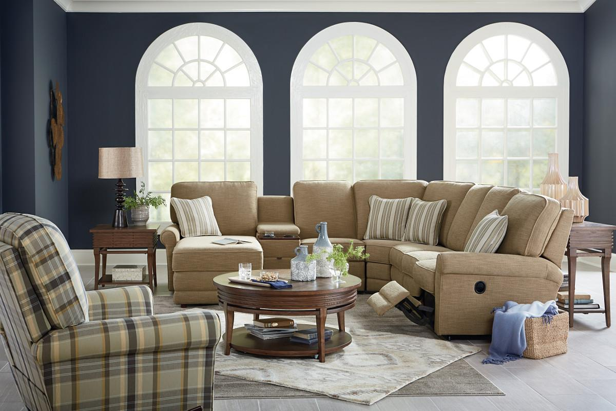 La-Z-Boy Addison Reclining Living Room Group - Boulevard Home ...