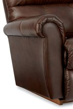 Rolled Arms with Plush Pillow Padding and Double-Needle Topstitching