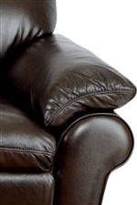 Flared Pillow-top Roll Arms