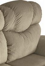 Plush Seat Back Cushions