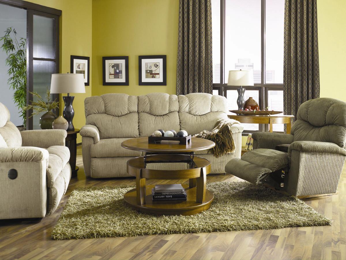 La Z Boy Living Room Set La Z Boy Lancer Reclina Rockerar Reclining Chair Walkers