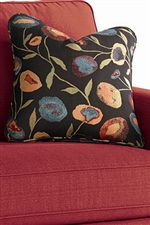 Knife Edged Accent Pillows Add a Pop of Color, Texture and Comfort