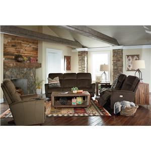 La-Z-Boy Odon Reclining Living Room Group