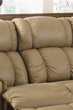 Plush Channel Split Back Cushion