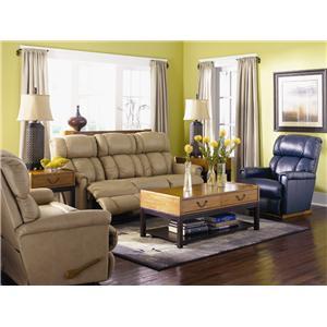 Remarkable La Z Boy Pinnacle Powerreclinexrw Wall Saver Reclining Andrewgaddart Wooden Chair Designs For Living Room Andrewgaddartcom