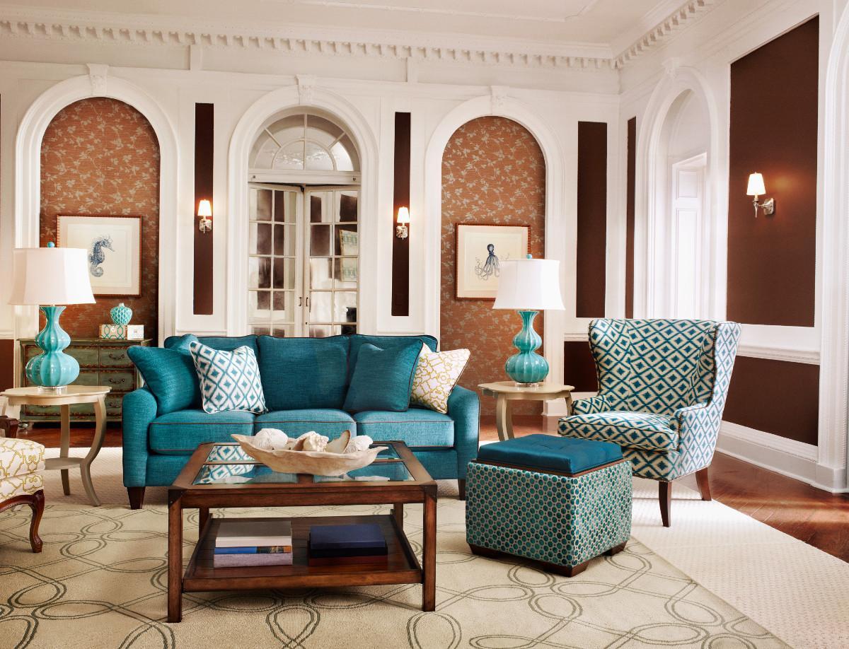La Z Boy Living Room Set La Z Boy Talbot Stationary Living Room Group Johnny Janosik