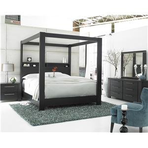Morris Home Furnishings Metropolis King Storage Bed