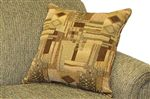 Contrasting Throw Pillows Add an Element of Depth with a Touch of Design
