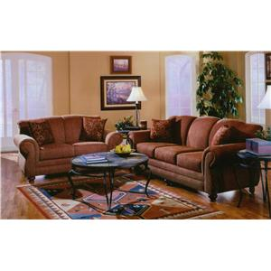 Lancer 32 Traditional Sofa with Rolled Arms