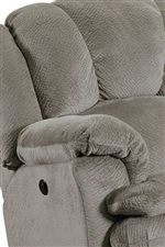 Plush Pillow Arms and Seat Back