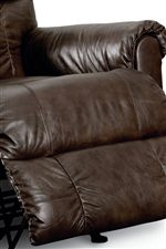 Fully Padded Chaise Seat with Rolled Pillow Arms
