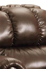 Channel Tufted High Back Cushions