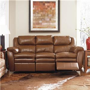 Lane Hendrix Double Reclining Console Loveseat