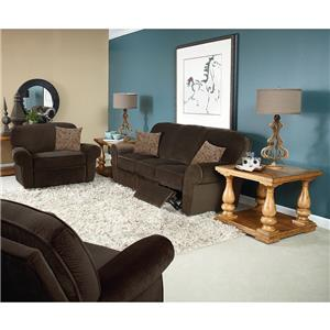 Lane Molly  Transitional Glider Recliner