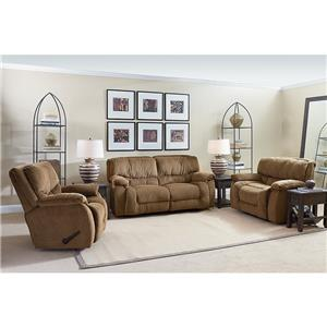 Lane Orlando Casual Power Glider Recliner