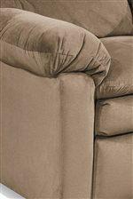 Plush Pillow Top Arm