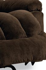 Heavily Padded Chaise Brings You Head to Toe Comfort
